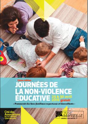 Affiche 13e 14e édition Journée de la non-violence éducative