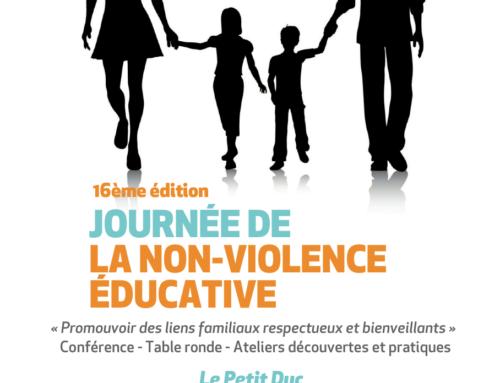 16ème journée de la Non-Violence Educative à Aix-En-Provence