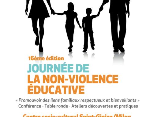 16ème journée de la Non-Violence Educative à Marseille