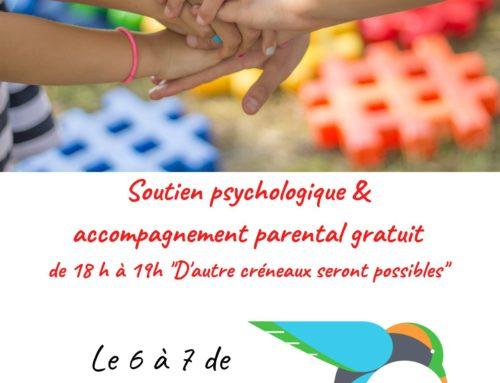 Soutien psychologique et accompagnement parental gratuit